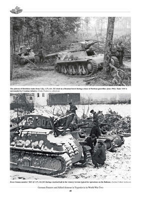 German Panzers and Allied Armour in Yugoslavia in WWII - 2