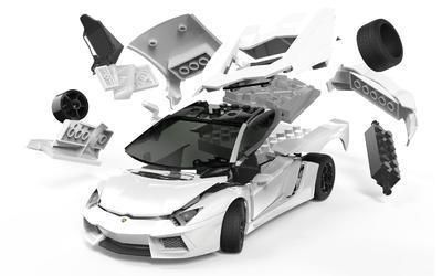 Quickbuild Lamborghini Aventador - 2