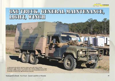 Aussie Land Rover Perentie  - 2