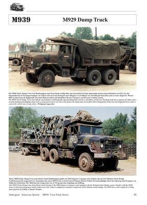 M939 5-ton 6x6 Truck Series - 2