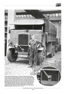 British Military Truck in Wehrmacht Service - 2