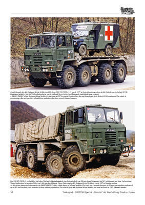 British Cold War Military Trucks - FODEN Commercial Pattern Low Mobility, Medium Mobilit  - 2
