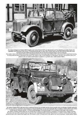 Einheits-PKW German Standardised 'Einheits-PKW' Field Cars of World War Two - 2