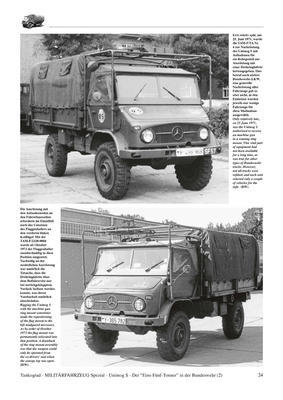 Unimog 1,5-Tonner 'S' The Legendary 1.5-ton Unimog Truck in German Service Part 2 - Carg - 2