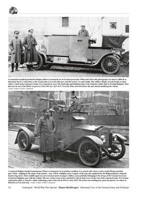 WWI Panzer-Kraftwagen Armour Cars of the German Army and Freikorps - 2