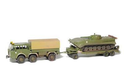 Transportní souprava pohraniční stráže - T-813 6x6, podvalník P-32 a BVP-1 PS/ČSLA - 2