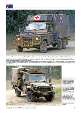 Anzac Army Vehicles - 2