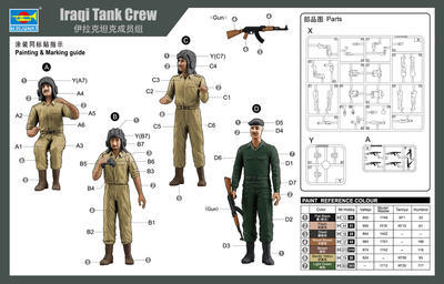 Iraqi Tank Crew  - 2