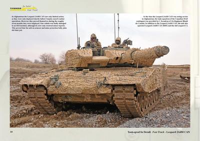 Leopard 2A4M CAN Canadian Main Battle Tank  - 2