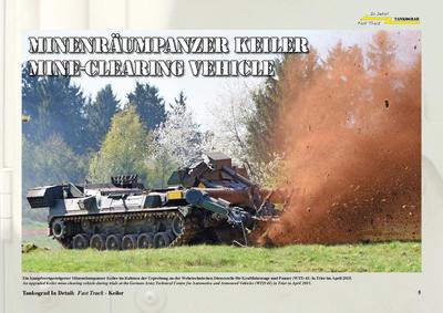 Keiler German Mine-Clearing Tank - 2