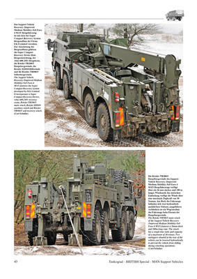 MAN Support Vehicles The most modern Trucks of the British Army - 2
