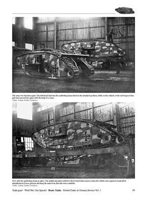 WWI Beute-Tanks British Tanks in German Service vol.1 - 2