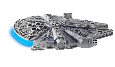 Millenium Falcon - Build & Play, zacvakávací model Star Wars se světelnými a zvukovými ef. - 2