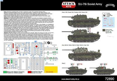 SU-76i Soviet Army - 2