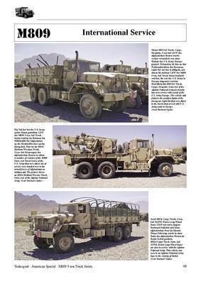 M809 5-ton 6x6 Truck Series - 2