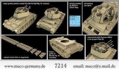 "Flakpanzer III ""Wirbelwind"" - 2"
