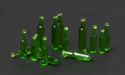 Beer Bottles for Vehicle/Diorama - 2