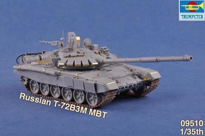 Russian T72B3M MBT - 2