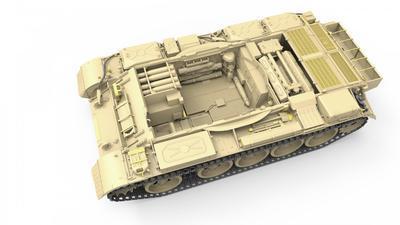 Tiran 4,  Late Type, with Interior Kit - 2