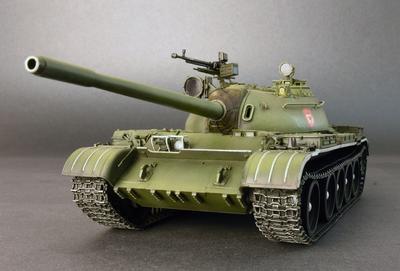 T-54B Soviet medium tank - 2