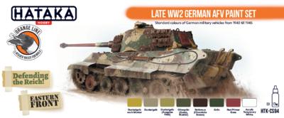 Late WW2 German AFV Paint set - 2