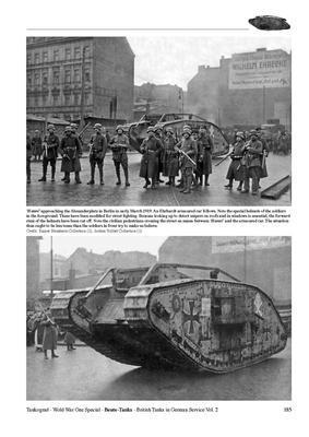 WWI Beute-Tanks British Tanks in German Servise vol.2 - 2