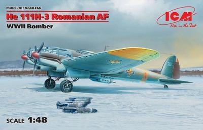 He 111H-3 Romanian AF, WWII Bomber - 2