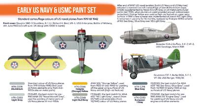 Early US Navy & USMC Paint Set, sada barev - 2