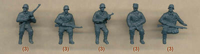 WWII German Tank Riders, 32+ Figures  - 2