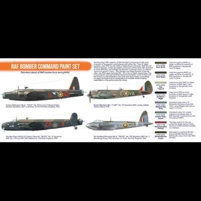 RAF Bomber Command Paint Set, sada barev - 2