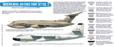 Modern Royal Air Force Paint Set VOL.5, sada barev - 2
