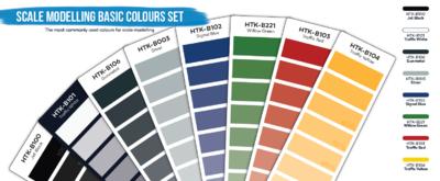 Scale Modelling Basic Colours Set - 2
