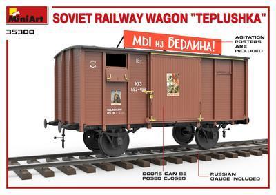"Soviet Railway Wagon ""Teplushka""  - 2"