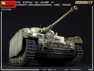 Pz.Kpfw.IV Ausf. H KRUPP-GRUSONWERK. MID PROD. AUG-SEP 1943. INTERIOR KIT - 2