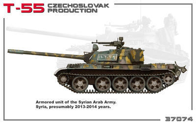 T-55 Czechoslovak Production  - 2