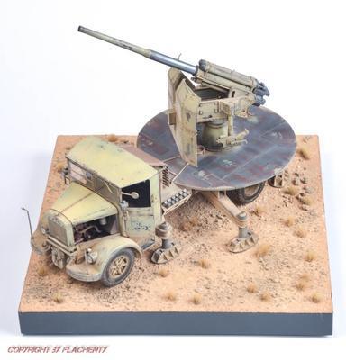 Italian Autocannone 3Ro with 90/53 90mm Anti Aircraft Gun  - 2