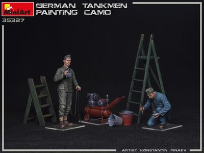 GERMAN TANKMEN CAMO PAINTING - 2