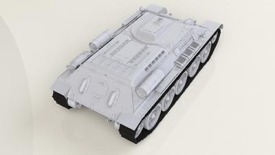 """T-34 """"Taygach"""" Model 1944 - 2"""