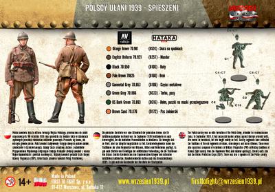 Polscy Ułani 1939 – spieszeni - 2
