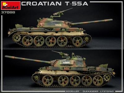 Croatian T-55A  - 2