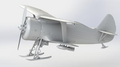 I-153 (winter version ) Soviet Fighter - 2