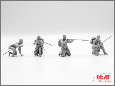 WWI Belgian Infantry  - 2