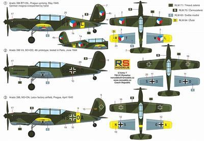 Arado Ar-396 CZ/Luftwaffe - 2
