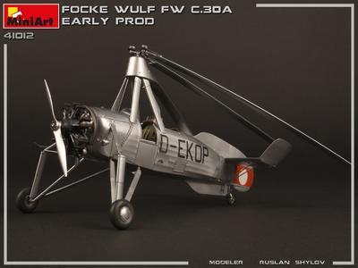 Focke -Wulf FW C.30A Heuschrecke Early prod.  - 2