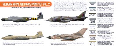 Modern Royal Air Force Paint Set Vol. 2 - 2