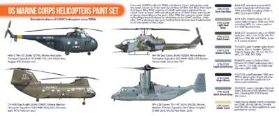 US Marine Corps Helicopters Paint Set, sada barev  - 2