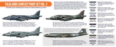 Falklands Conflict Paint Set VOL.2, sada barev  - 2