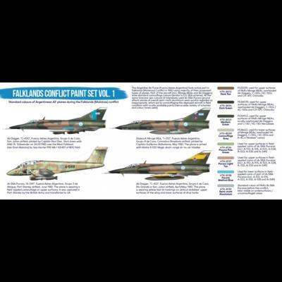 Falkland Conflict Paint Set Vol. 1, sada barev - 2