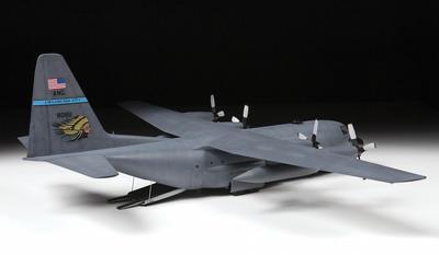 American heavy transport plane Lockheed C-130H Hercules  - 2