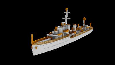 HMS Harvester 1943 British H-class destroyer  - 2